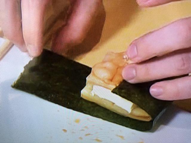 家事ヤロウ クリームチーズ磯辺焼き 作り方2