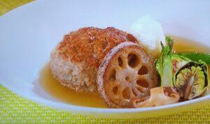 志麻さんレシピ 和風煮込みハンバーグ